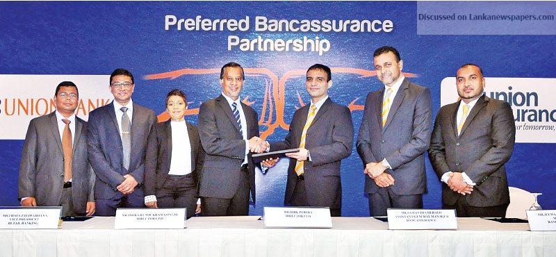 Sri Lanka News for Union Assurance partners Union Bank to expand Bancassurance