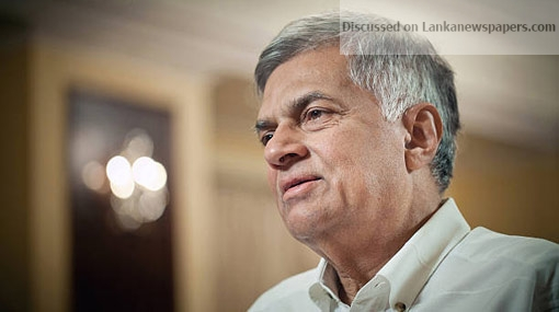 Sri Lanka News for Constitution doesn't make provisions for personality clashes – Ranil
