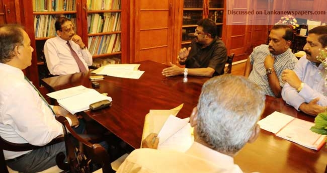 Sri Lanka News for CWC holds special discussion with Finance Ministry