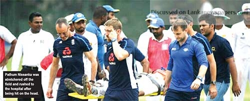 Sri Lanka News for Pathum Nissanka out of danger after scary head injury