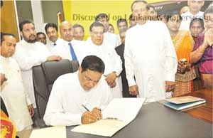 Sri Lanka News for Galle District MP Piyasena Gamage yesterday took up responsibilities as State Minister of Youth