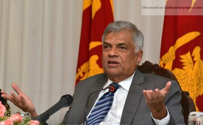 Sri Lanka News for Ranil stresses need to establish new Parliament