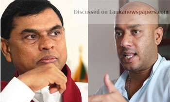 Sri Lanka News for Basil meets Duminda