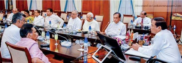 Sri Lanka News for Sirisena agrees to fresh vote today