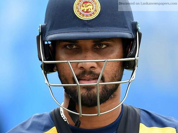 Sri Lanka News for Chandimal out for two weeks with groin injury