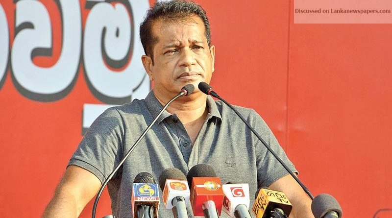 Sri Lanka News for JVP for legitimate general elections