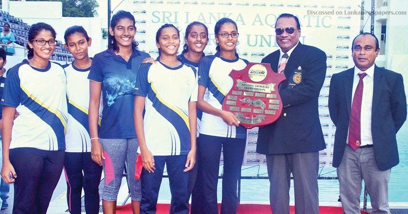 Sri Lanka News for Killer Whale Aquatics, Visakha champs in the pool