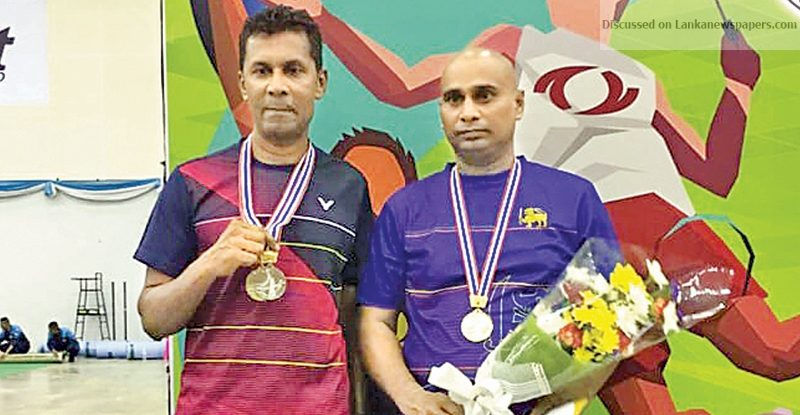 Sri Lanka News for Lankan shuttlers perform brilliantly to grab nine golds