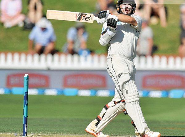 Sri Lanka News for Latham ton puts New Zealand in charge of first Sri Lanka Test