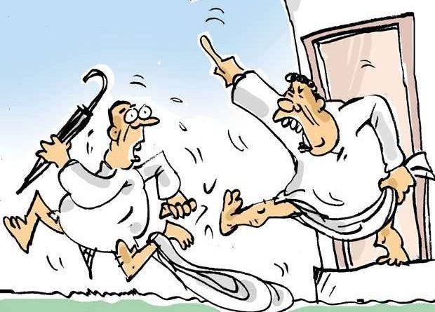 Sri Lanka News for He had to run for life!