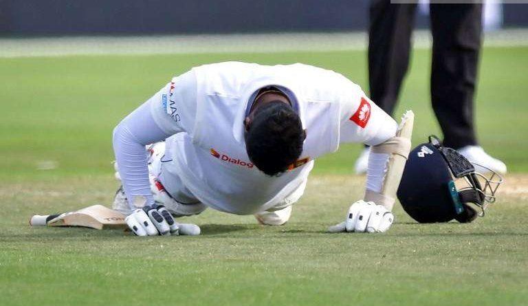Sri Lanka News for Mathews proves saviour again as Sri Lanka defy New Zealand