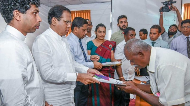 Sri Lanka News for President instructs officials to prepare development plans for the New Year with eradicating poverty as main objective.