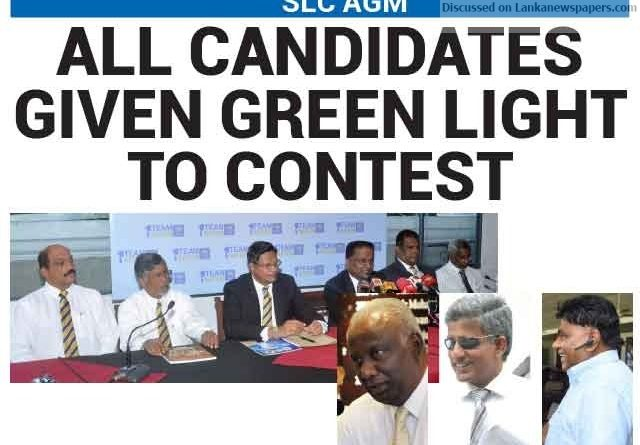 Sri Lanka News for All candidates given green light to contest