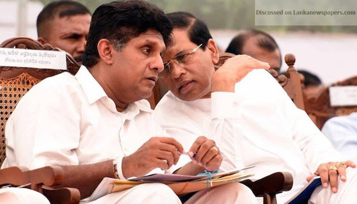 Sajith Premadasa Maithripala Sirisena in sri lankan news