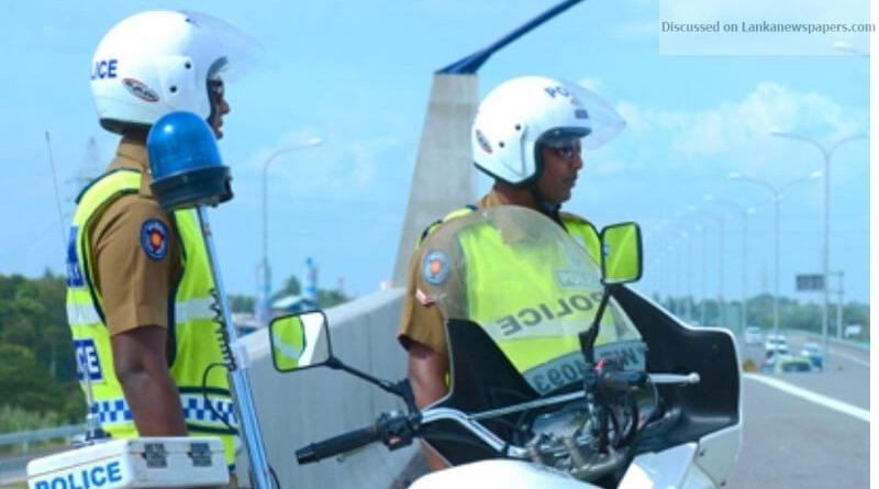 Traffic 1 in sri lankan news