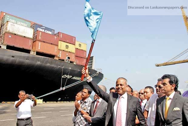 Sri Lanka News for Colombo port handles record-breaking 7mn TEUs in 2018