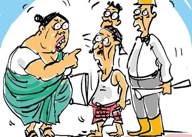 Sri Lanka News for Her slip is showing