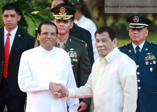 Sri Lanka News for MS meets Philippines President