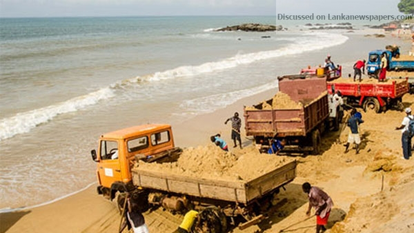 Sri Lanka News for Twelve Navy personnel injured in clash with illegal sand miners