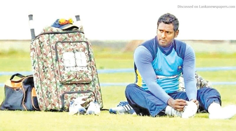 Sri Lanka News for Angelo Mathews World Cup spot in jeopardy