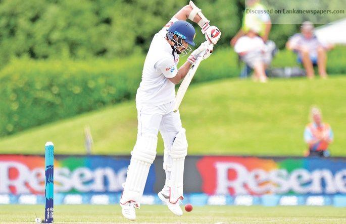 Sri Lanka News for handimal should bat at no. 3 says chief selector