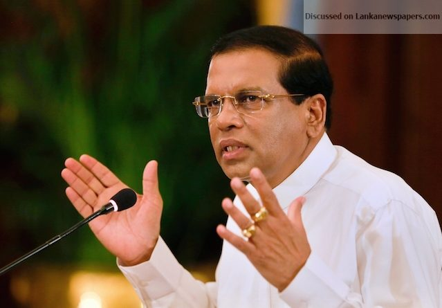 Maithripala Sirisena 13 July 15 Prz media in sri lankan news