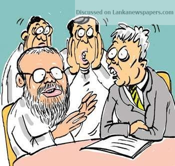Sri Lanka News for A farce to be enacted to conform to a legal requirement!
