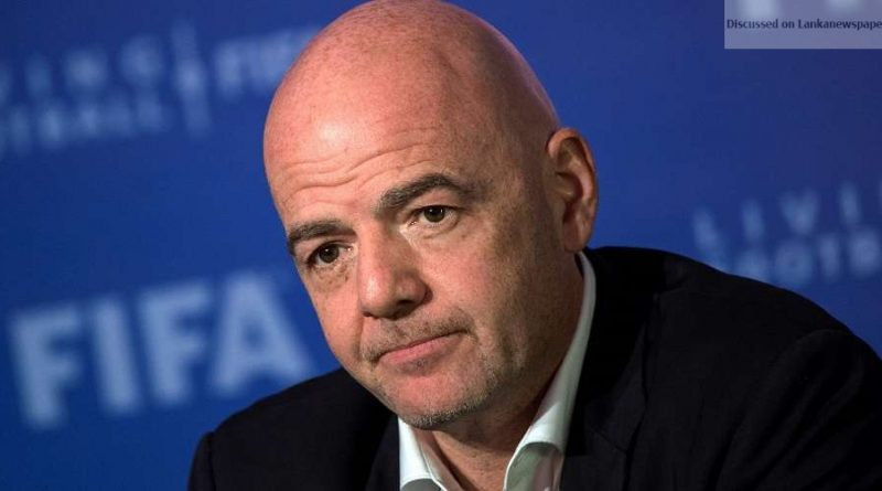 Sri Lanka News for Infantino sole candidate for FIFA presidency in June vote