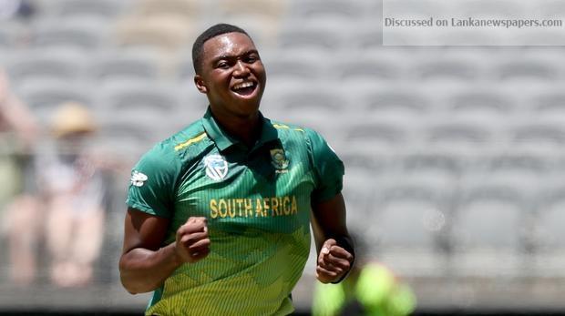 Sri Lanka News for South Africa recall fit again Ngidi for Sri Lanka ODI series