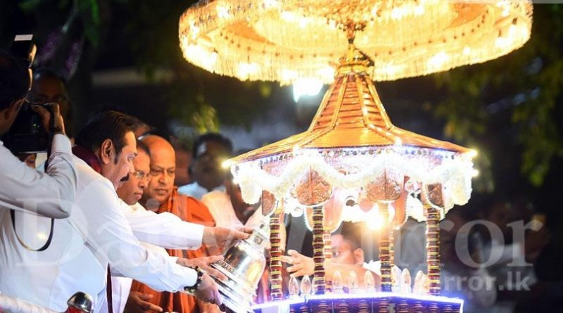 Sri Lanka News for President and MR at Gangaramaya Temple