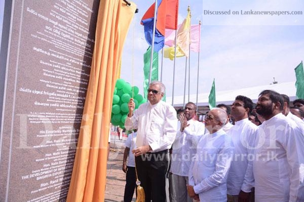 Sri Lanka News for PM inaugurates construction work of Bingiriya EPZ