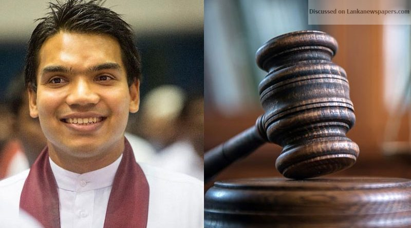 Namal case in sri lankan news