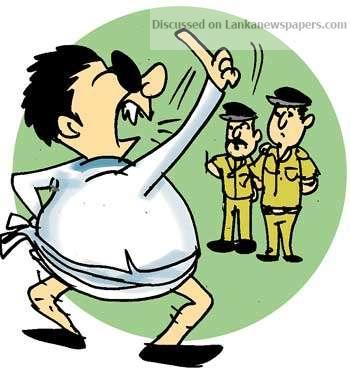 Sri Lanka News for Flexing political muscle!