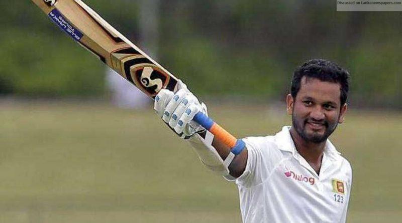 Sri Lanka News for Dimuth to lead Sri Lanka at World Cup