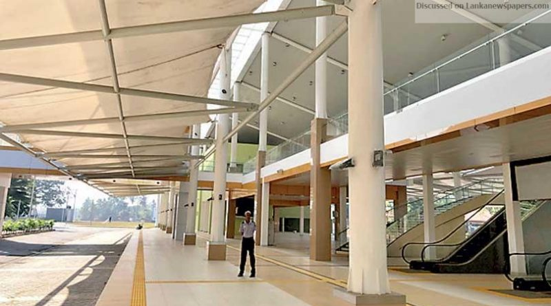 Sri Lanka News for Kottawa-Makumbura Multimodal Transport Centre to open tomorrow