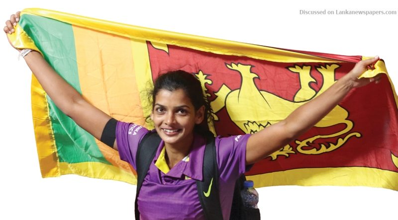 Sri Lanka News for Asian Athletics Championships in Doha: Vidusha wins bronze for Sri Lanka