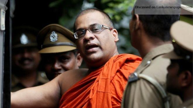 Sri Lanka News for Prez inks paperwork for Gnanasara Thera's release
