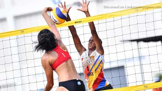 Sri Lanka News for SL confident of winning Gold at Beach Volleyball