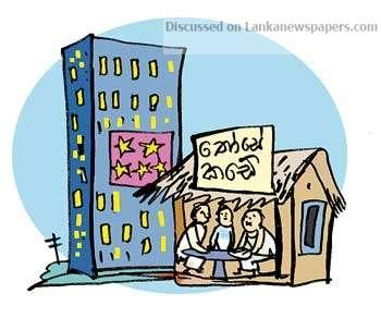 Sri Lanka News for High-end hotel given up for thosa-kade!