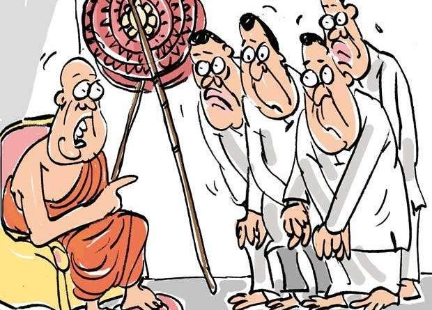 Sri Lanka News for Sought blessings, but got a tongue-lashing!