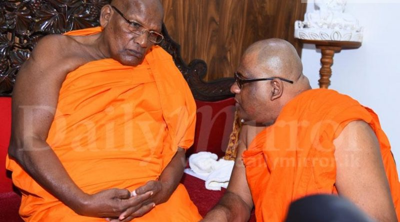 Sri Lanka News for Ven. Gnanasara meets Chief Prelate of Kotte