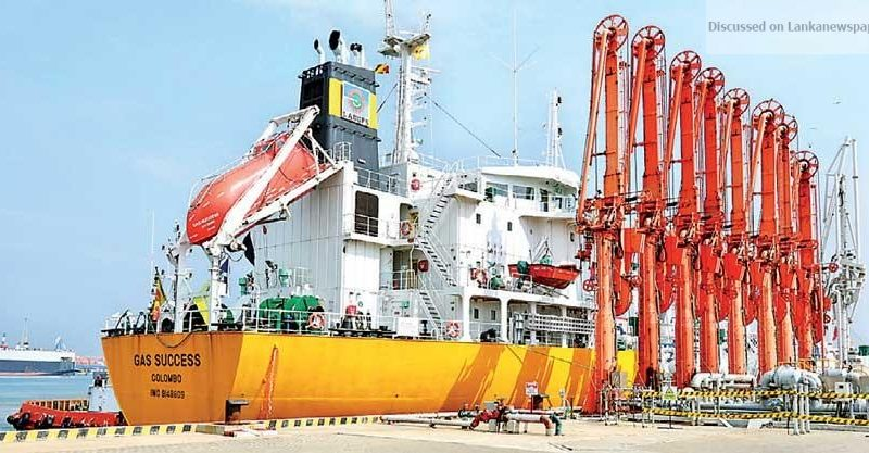 Sri Lanka News for SA's largest LPG transhipment terminal by Laugfs officially inaugurates operations