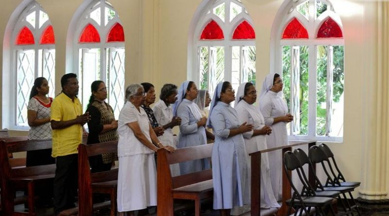 Sri Lanka News for Catholics holds Sunday mass after Easter attacks