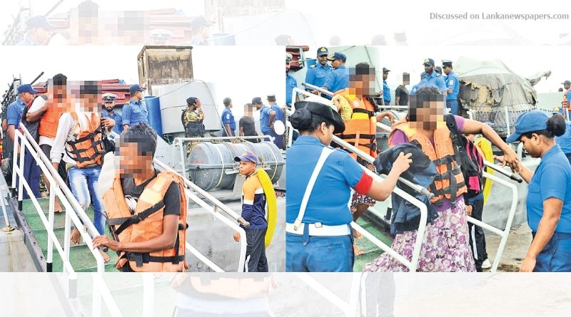 Sri Lanka News for Navy nabs 41 illegal immigrants