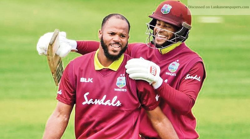 Sri Lanka News for 365 runs!?Windies duo Campbell, Hope create world record