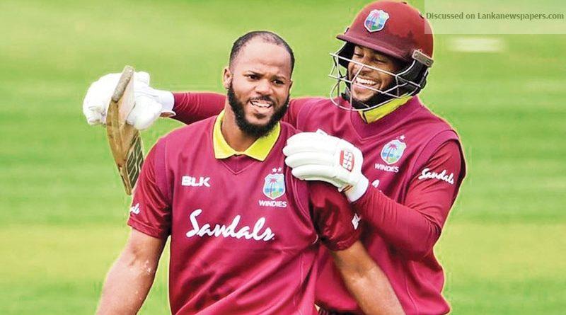 Sri Lanka News for 365 runs!?Windies duo Campbell, Hope create world record