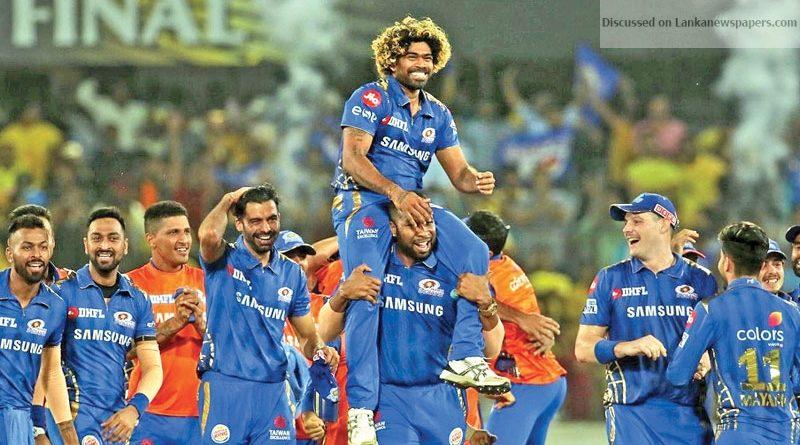 "Sri Lanka News for Rohit Sharma calls Malinga ""Champion"""