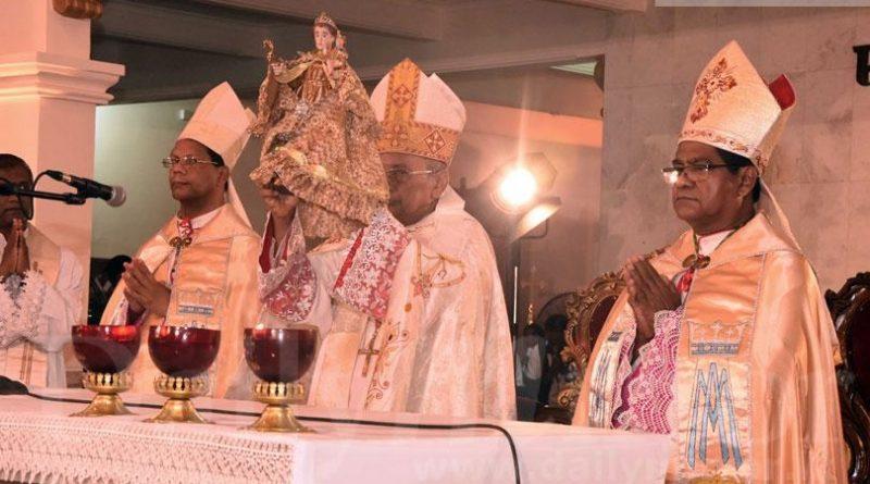 Sri Lanka News for Cardinal Malcolm Ranjith re-consecrates St. Anthony's Church