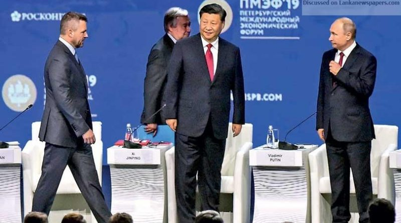 Sri Lanka News for Russia and China to show united front at showcase economic forum