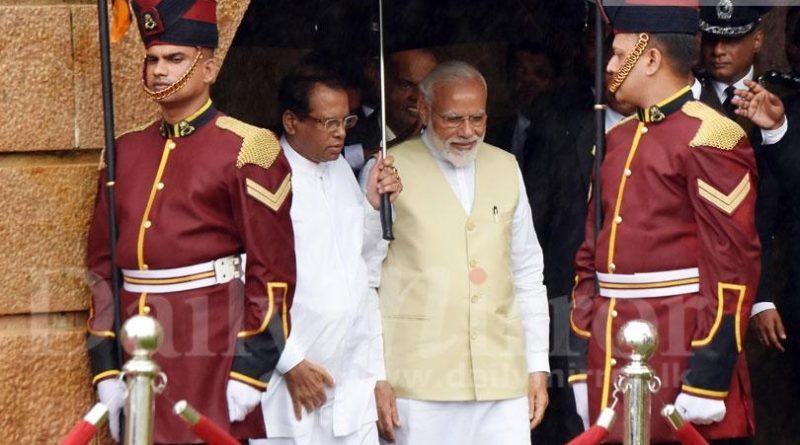 Sri Lanka News for Modi meets President